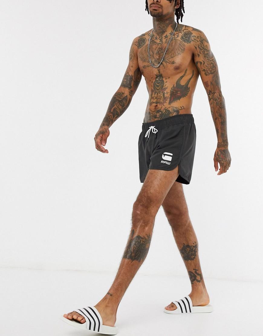 G-Star | Серые шорты для плавания G-Star-Серый | Clouty