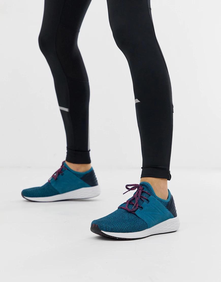 New Balance | Синие кроссовки New Balance-Cuнuй | Clouty