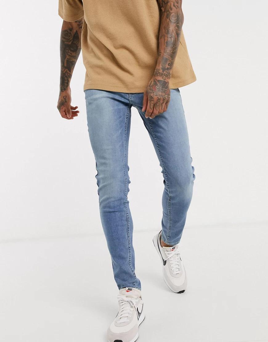 Hollister   Супероблегающие джинсы Hollister-Cuнuй   Clouty