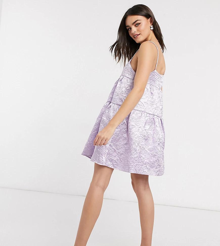 Annorlunda | Свободное жаккардовое платье с вафельной текстурой Annorlunda-Myльтu | Clouty