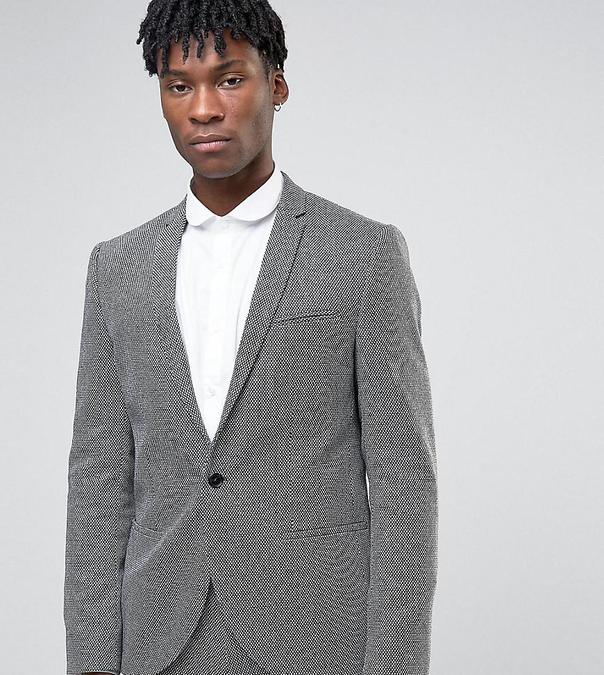 Noak | Пиджак из монохромной фактурной ткани Nоак-Черный | Clouty