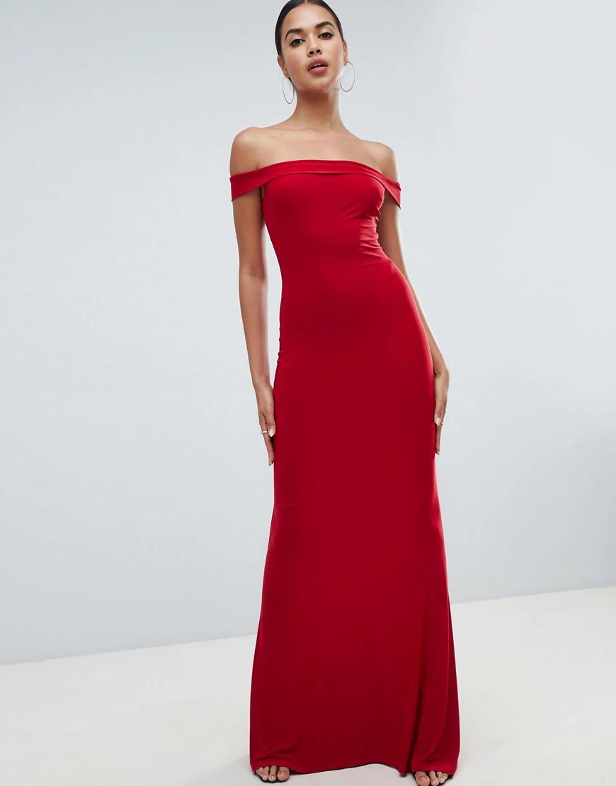 Club L London | Платье макси Club L-Красный | Clouty