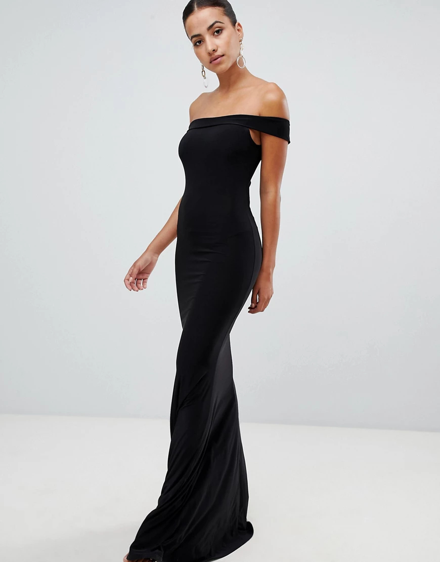 Club L London | Платье макси Club L-Черный | Clouty