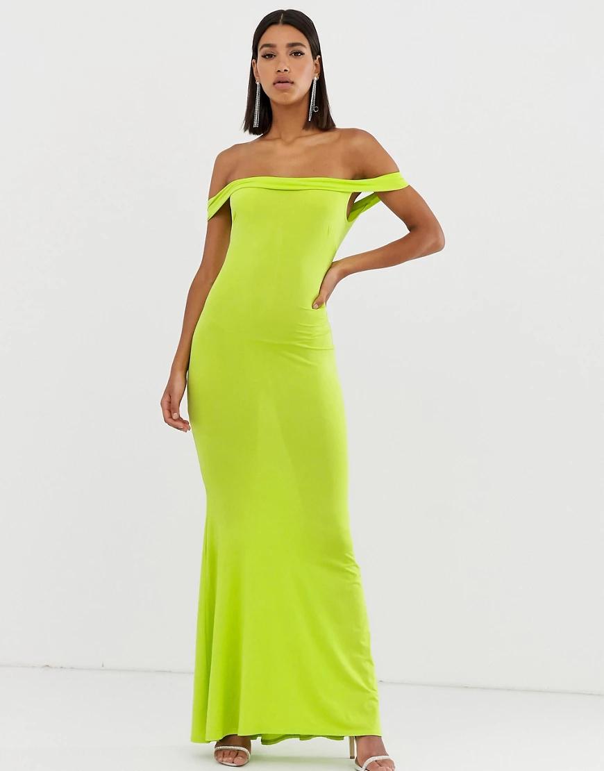 Club L London | Платье макси Club L-Зеленый | Clouty