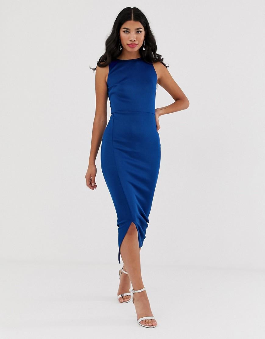 True Violet | Платье макси с разрезом True Violet-Cuнuй | Clouty