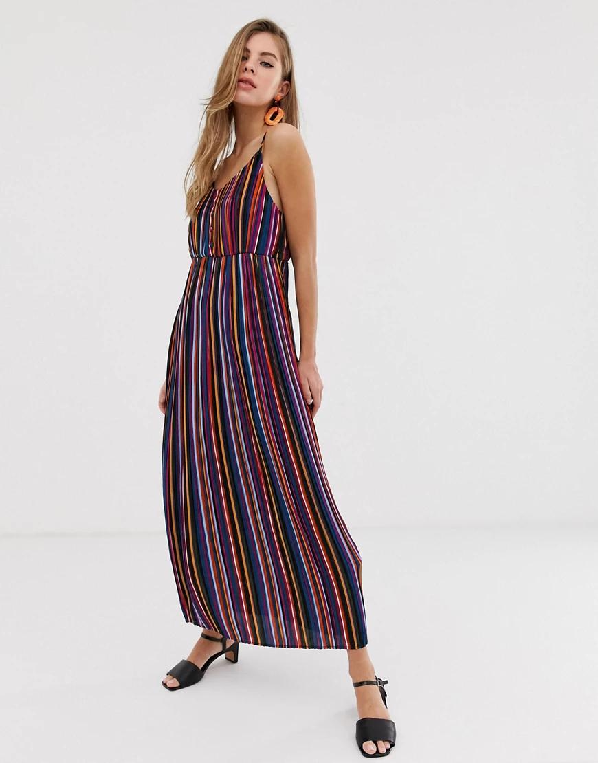 Pimkie | Платье макси в полоску Pimkie-Мульти | Clouty