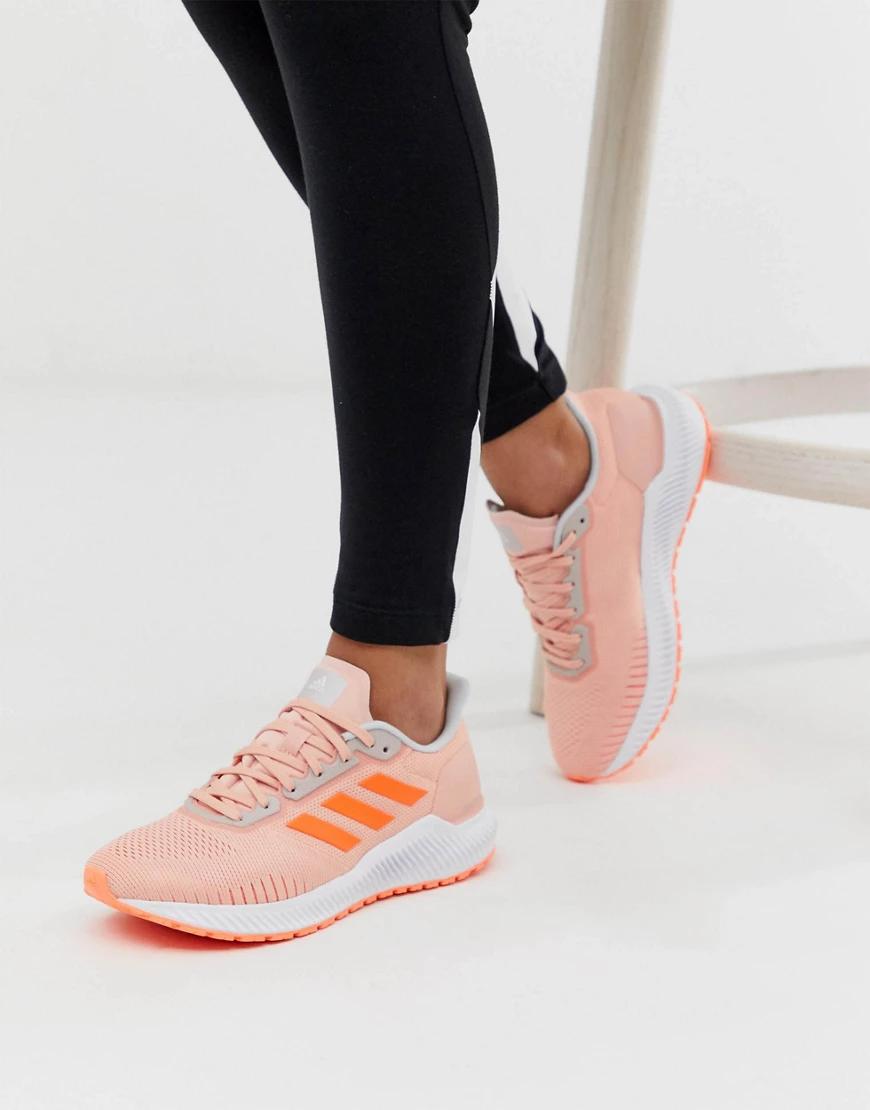 adidas | Розовые кроссовки adidas Running-Розовый | Clouty
