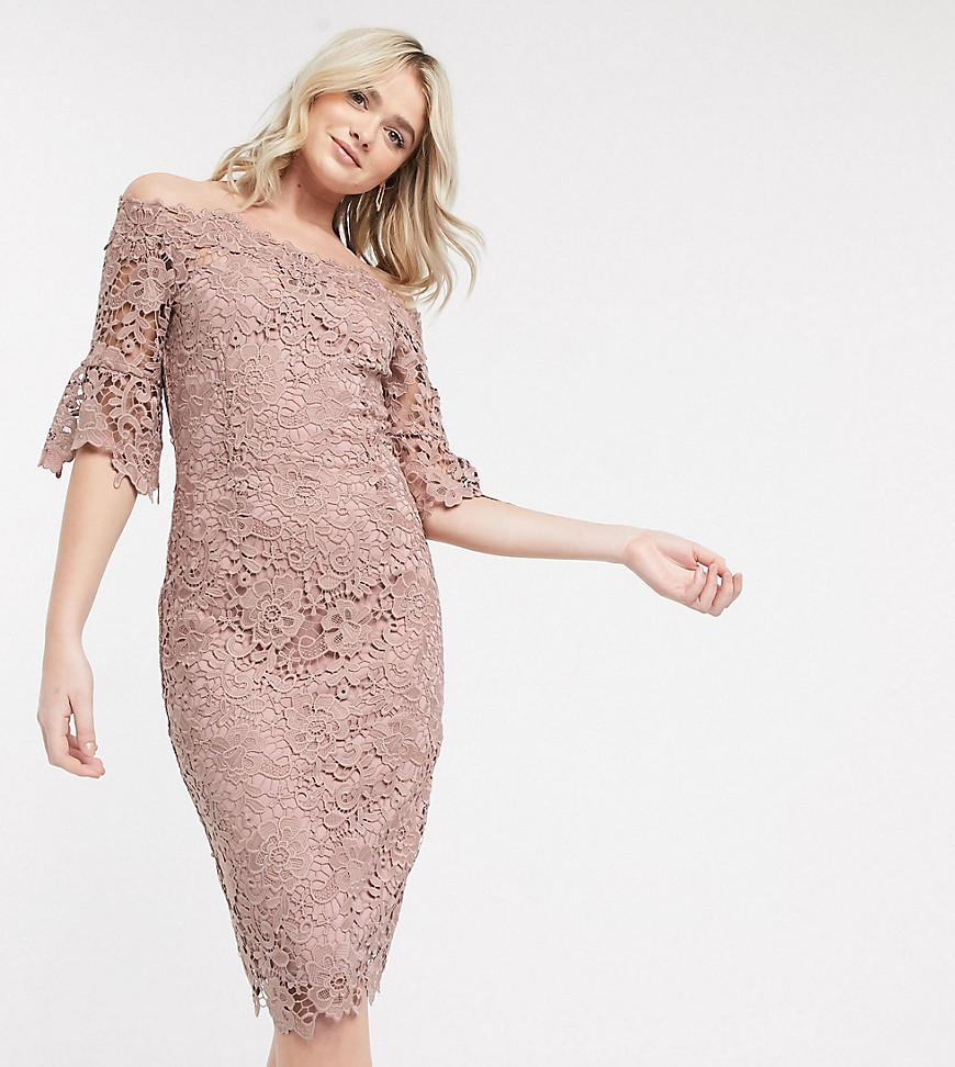Кружевное платье футляр фото