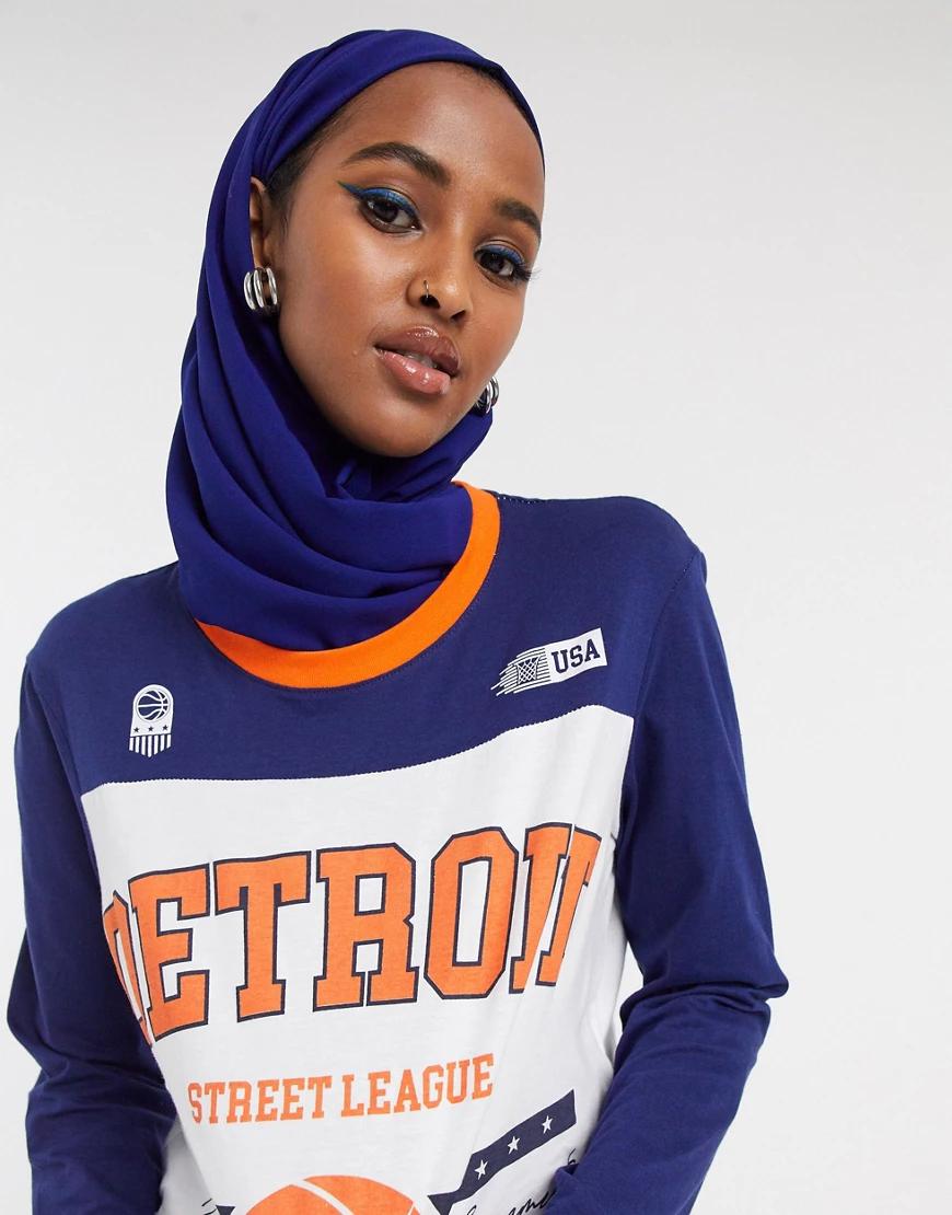 Factorie   Темно-синяя бейсбольная футболка Factorie-Myльтu   Clouty