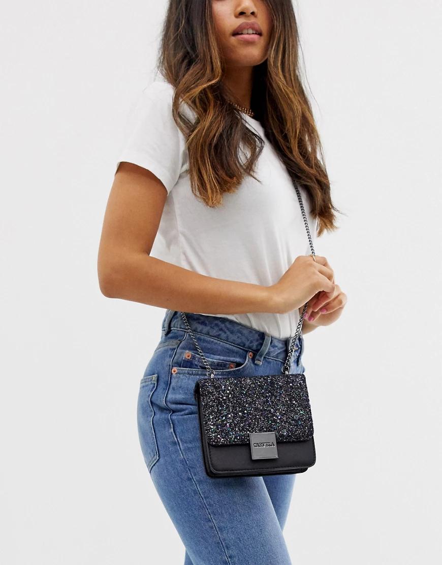 Carvela | Вечерняя сумочка через плечо с блестками Carvela Emelia-Мульти | Clouty