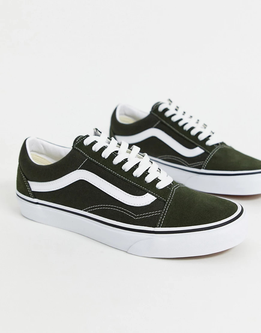 VANS | Зеленые кроссовки Vans Old Sкооl-Зеленый | Clouty