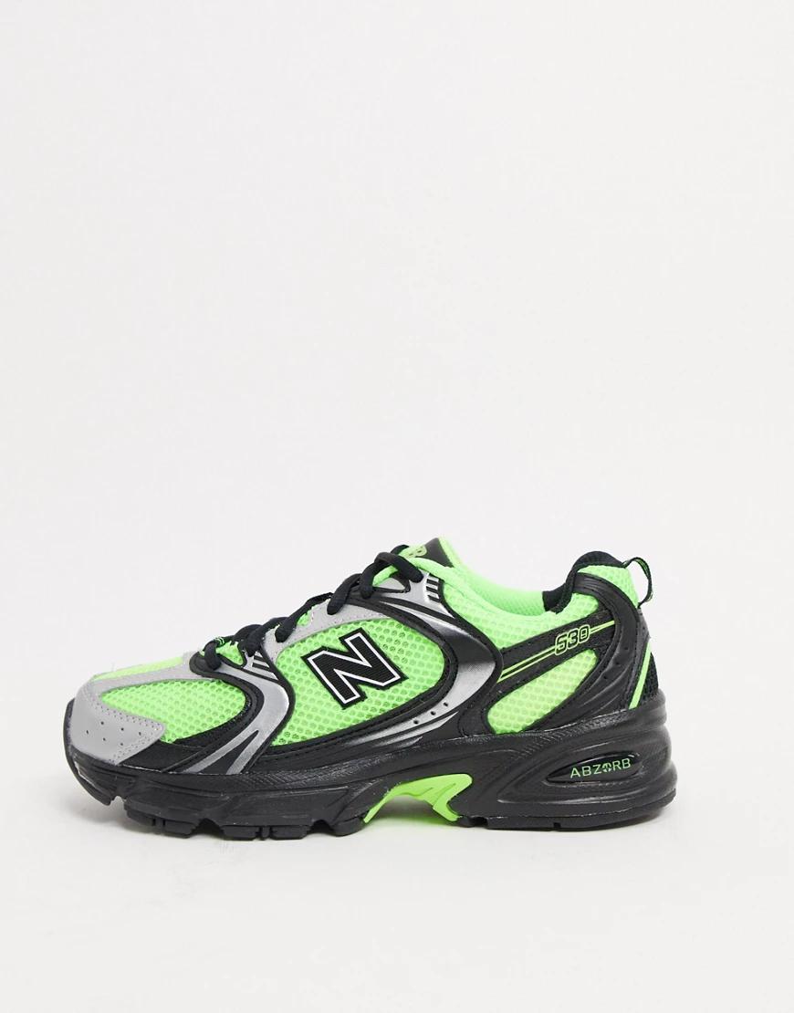 New Balance | Зеленые кроссовкиNew Balance530Hi Viz-Зеленый | Clouty