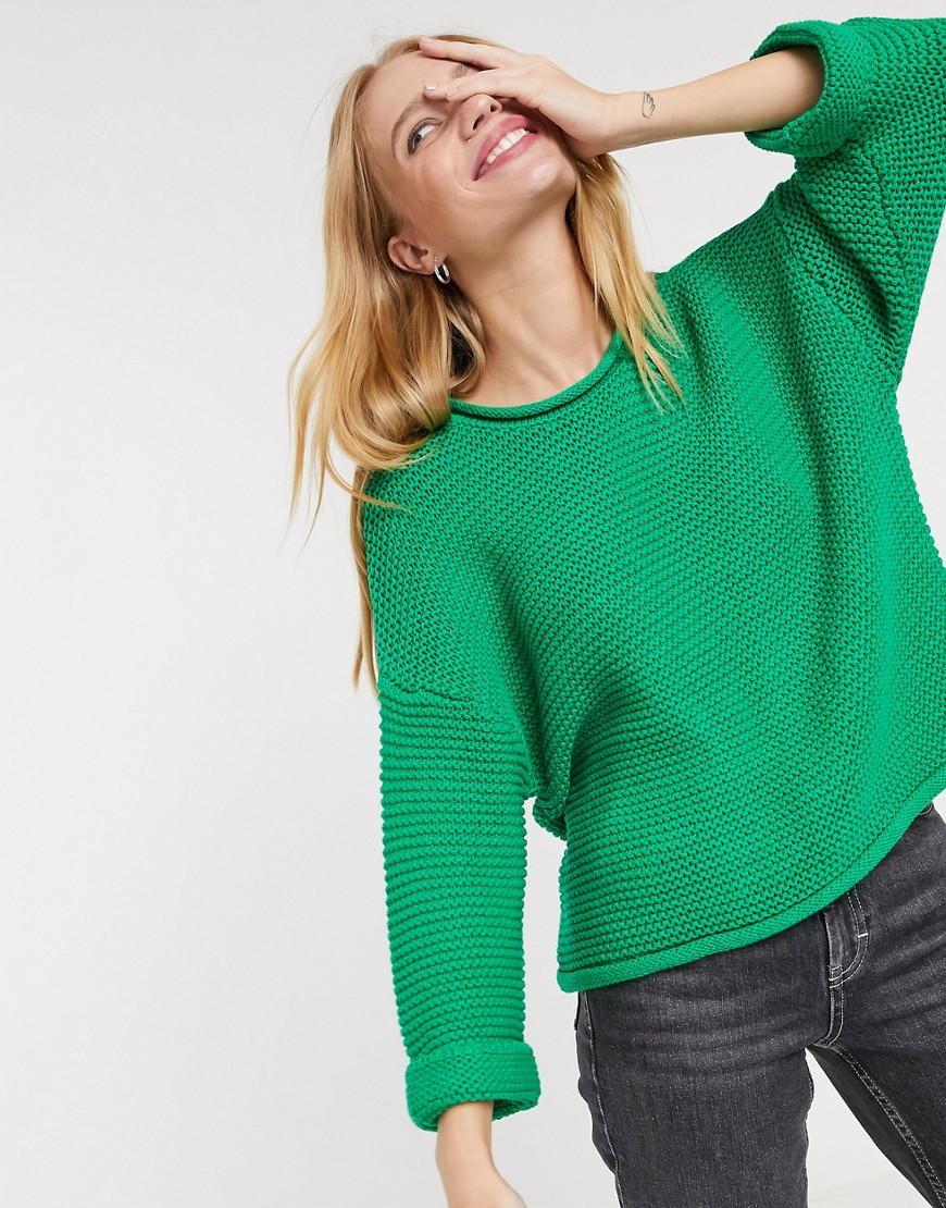 Selected | Зеленый джемпер с рукавами 3/4 Selected | Clouty
