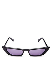 Фото Kendall and Kylie Women's Vivian Extreme Cat Eye Sunglasses, 50mm