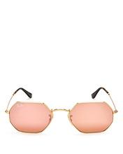 Фото Ray-Ban Icons Mirrored Sunglasses, 52mm
