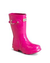 Hunter Gloss Original Kids Classic Rain Boots - Little Kid, Big