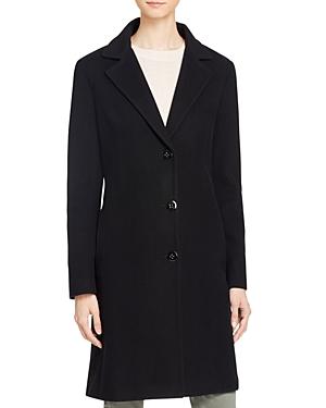 Calvin Klein   Calvin Klein Single-Breasted Button Front Coat   Clouty