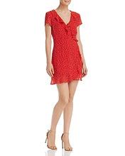 Фото Bardot Open-Back Polka Dot Dress