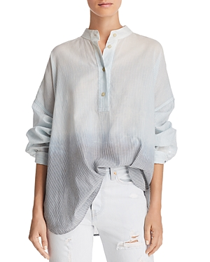 Elizabeth And James | Elizabeth and James Flint Oversize Ombre Shirt | Clouty