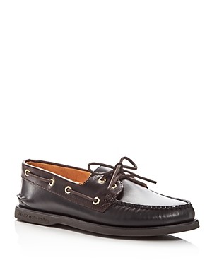Sperry | Sperry Men's Gold Cup Authentic Original Two-Eye Leather Boat Shoes | Clouty