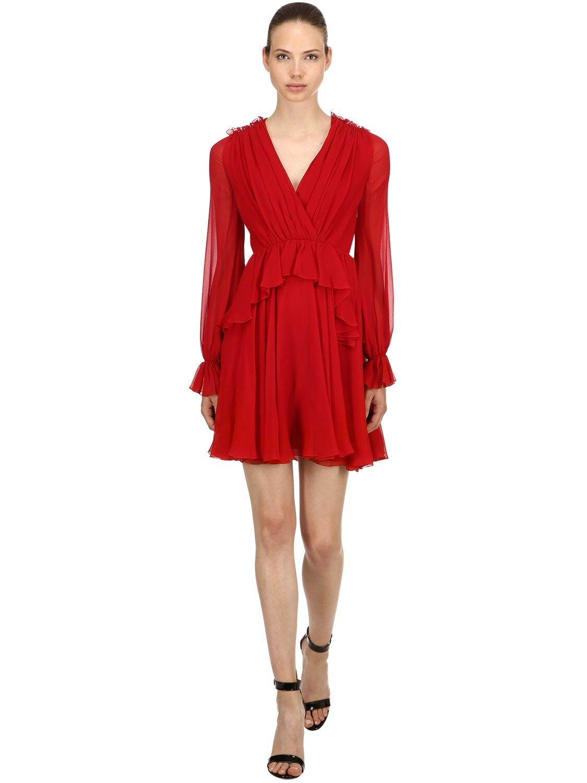 Giambattista Valli | Платье Из Шелка | Clouty