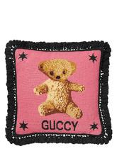 """Фото Подушка С Вышивкой Крестиком """"teddy Bear"""