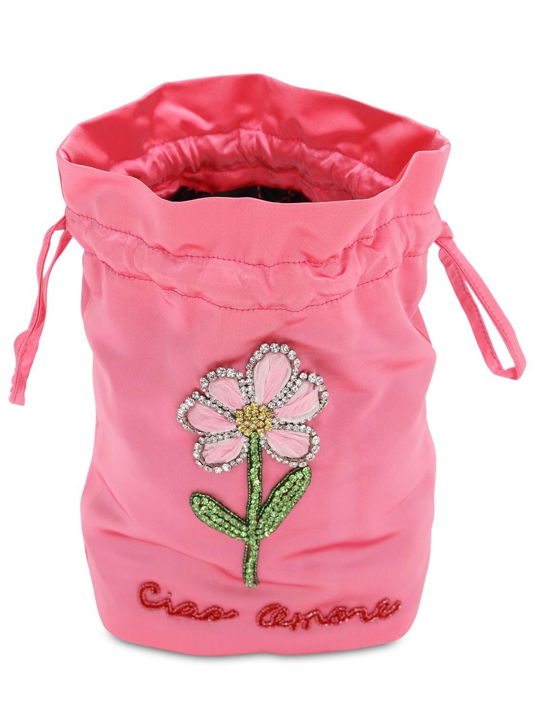 """Giada Benincasa   Клатч """"lady Bug Flower   Clouty"""