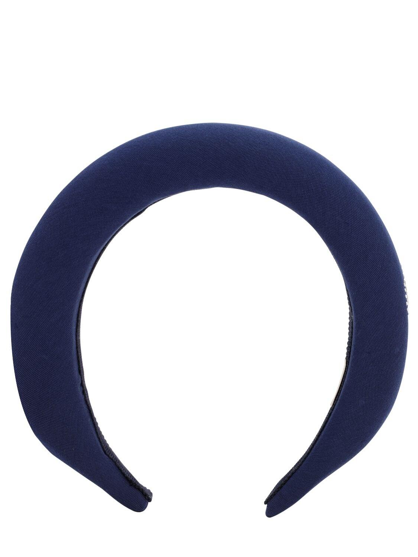 Monnalisa   Embellished Satin Headband   Clouty