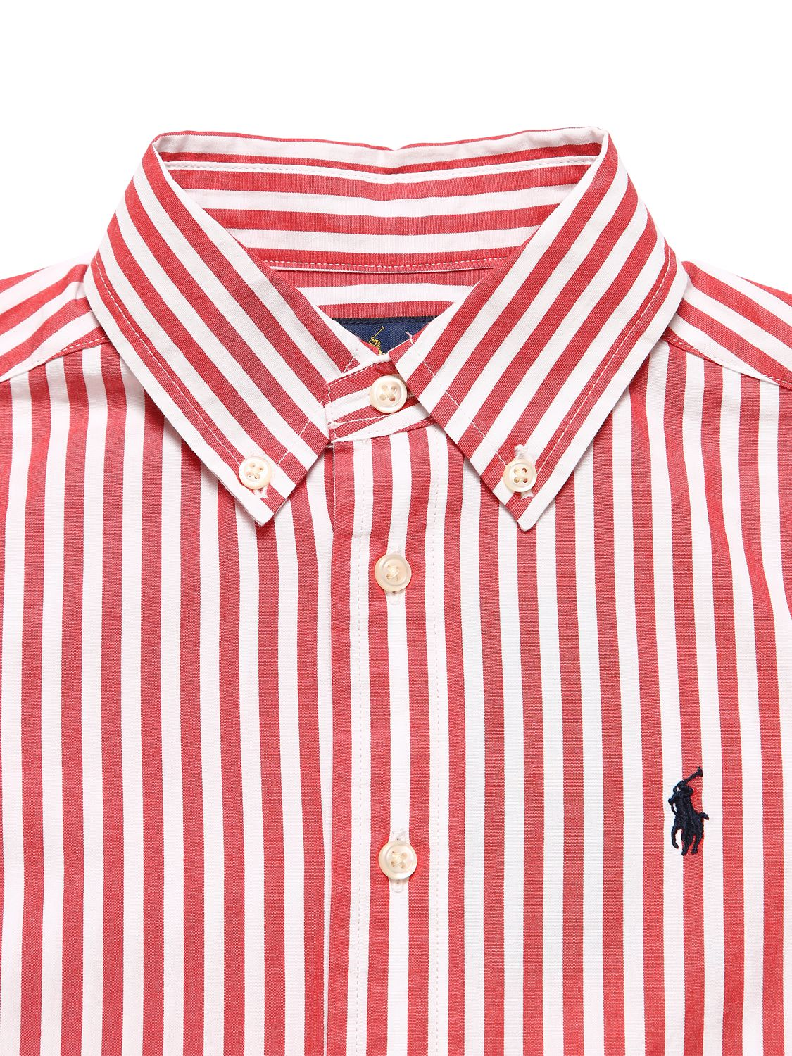 Ralph Lauren | Striped Cotton Poplin Shirt | Clouty