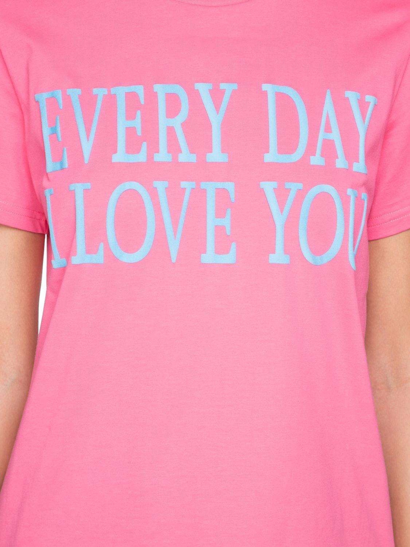 Alberta Ferretti | Футболка 'every Day I Love You' Из Хлопка | Clouty