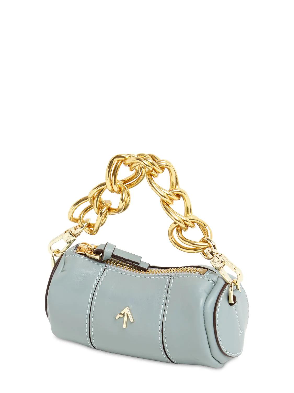 MANU ATELIER | Кожаная Сумка Micro Cylinder | Clouty
