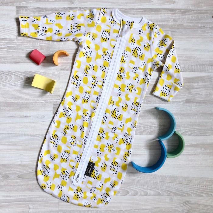 Mjolk   Спальный конверт Mjolk Mustard Spots   Clouty