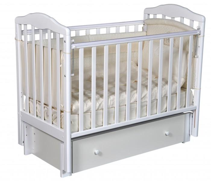 Антел | Детская кроватка Антел Алита 6 маятник продольный | Clouty