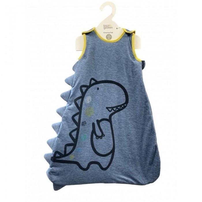 Bizzi Growin | Спальный конверт Bizzi Growin Tony T-Rex | Clouty