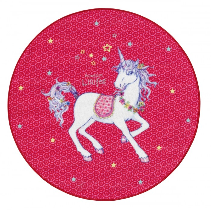 Boing Carpet | Boing Carpet Ковёр Prinzessin Lillifee 130 см 103-130R | Clouty