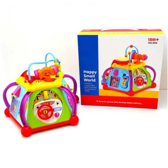 Veld CO | Развивающая игрушка Veld CO Игровой центр со световыми и звуковыми эффектами | Clouty