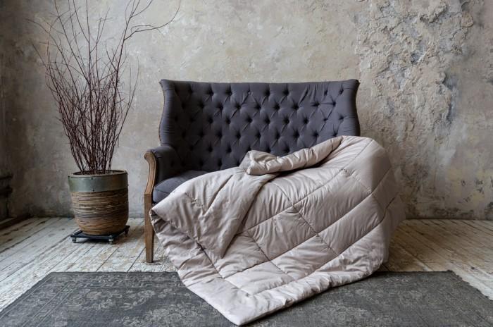 German Grass | Одеяло German Grass Almond Wool теплое 220х240 см | Clouty