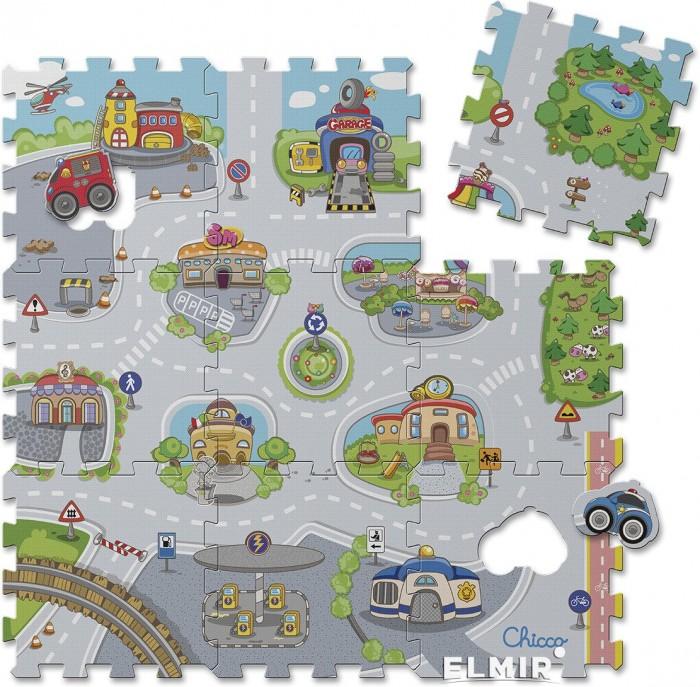 Chicco | Игровой коврик Chicco Коврик-пазл Город | Clouty