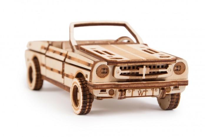 Wood Trick | Wood Trick Механический 3D-пазл Кабриолет | Clouty