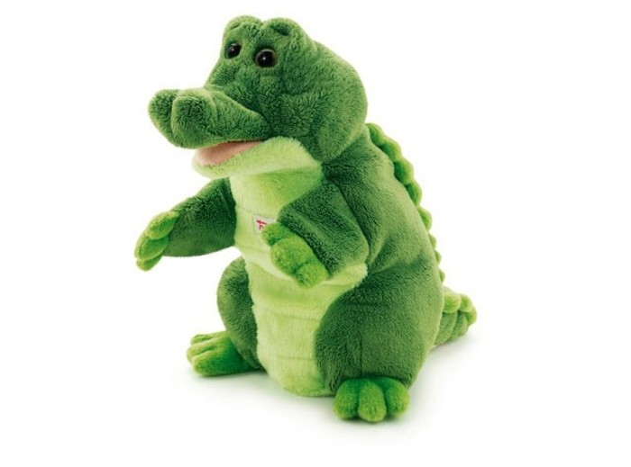 Trudi   Trudi Игрушка на руку Крокодил 25 см   Clouty