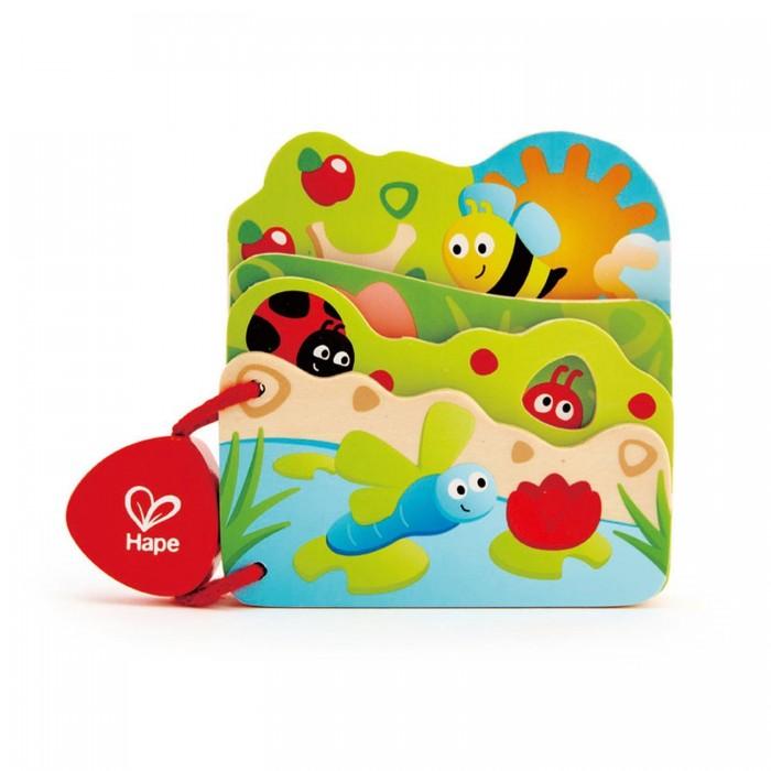 Hape | Деревянная игрушка Hape Книга Природа | Clouty
