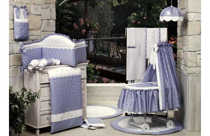 BabyPiu   Одеяло BabyPiu Нежность - Одеяло из ткани пике с вышивкой 150х115 для кроватки   Clouty