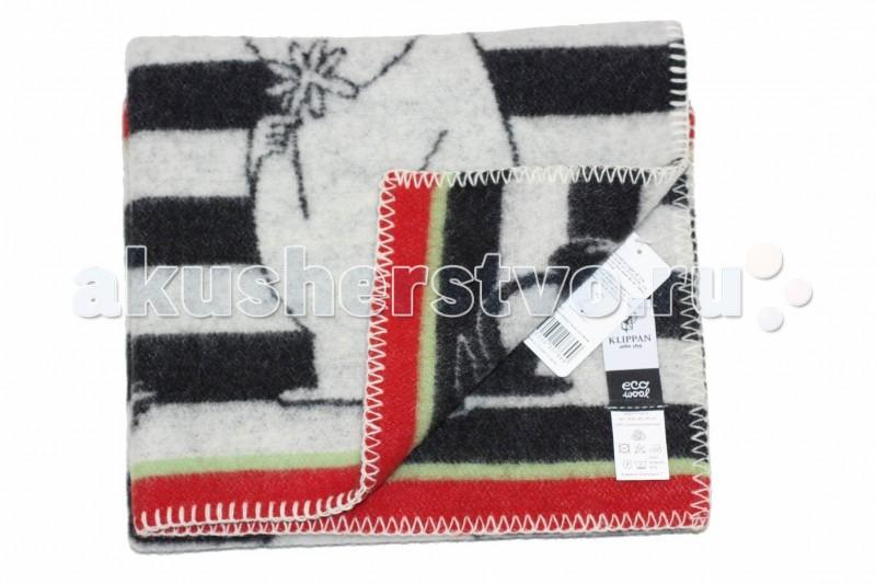 Klippan | Одеяло Klippan из эко-шерсти 65х90 см | Clouty