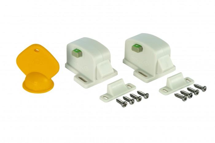 Safety 1st | Safety 1st Магнитный замок для шкафа 2 шт. | Clouty
