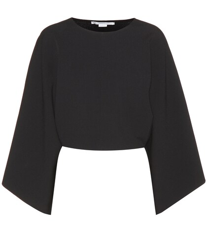 Stella McCartney | Long-sleeved cropped top | Clouty