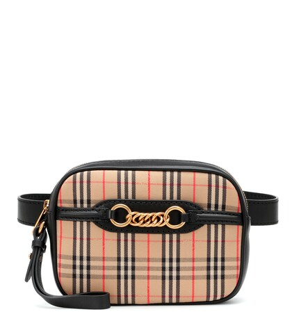BURBERRY | The 1983 Check Link belt bag | Clouty