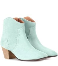Фото Dicker suede ankle boots