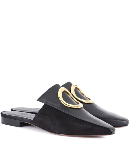 Neous   Phaius leather mules   Clouty