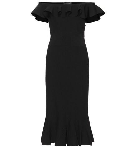 Alexander McQueen | Off-the-shoulder dress | Clouty
