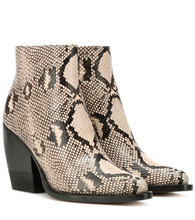 Фото Rylee embossed leather boots